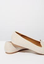 Cotton On - Sophia slipper - neutral