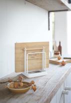 Yamazaki - Tosca cutting board stand - white