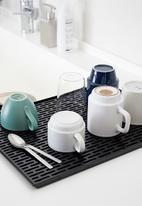 Yamazaki - Tower glass & mug drainer - black