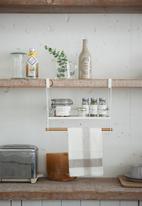 Yamazaki - Tosca undershelf rack - white