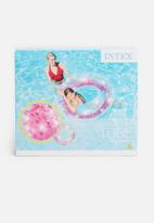 Intex - Glitter pool tube - pink