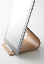 Yamazaki - Rin plywood tablet stand - natural