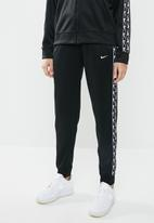 Nike - Nsw jogger logo tape - black & white