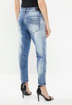 Diesel  - Fayaz t sweat jeans - blue