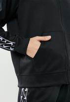 Nike - Nike nsw hoodie logo tape - black & white