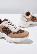 Cotton On - Monica sleek chunky sneaker  - multi