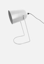 Present Time - Enchant desk lamp - white