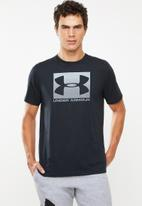 Under Armour - Boxed sportstyle short sleeve tee - black