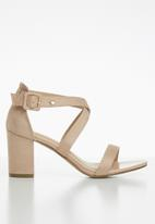 POLO - Justine crossover sandal - neutral