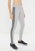 adidas - Believe this regular rise solid tights - grey
