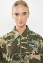 adidas Originals - Camo tracktop - green