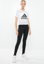 adidas - Badge of sport mesh tee - white