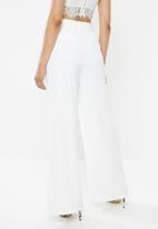 Glamorous - Wide leg trouser - white