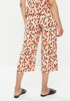 Glamorous - Co-ord wide leg trousers - peach
