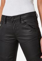 G-Star RAW - 5620 Custom mid skinny - black