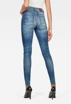 G-Star RAW - 3301 High waisted skinny - blue