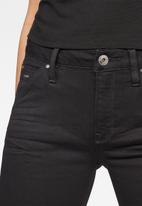 G-Star RAW - 5622 Mid skinny - black