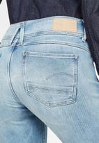 G-Star RAW - Lynn mid waist skinny - blue