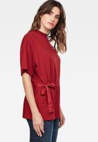G-Star RAW - Disem loose T-shirt - red