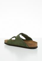 Birkenstock - Suede arizona - green