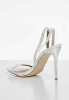 Madison® - Janelle strappy slingback stiletto - white