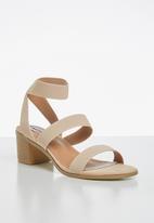 Madison® - Jayde ankle strap heel - neutral