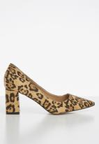 Madison® - Hanna leopard print court heel - multi