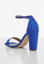 Madison® - Danica ankle strap heel - blue