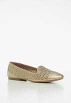 Call It Spring - Louvar loafer - gold