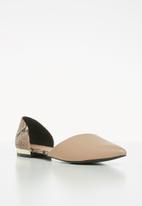 Call It Spring - Andre loafer - pink & black