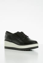 Call It Spring - Stipa flatform sneaker - black