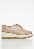 Call It Spring - Stipa flatform sneaker - pink