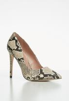 Call It Spring - Mykel stiletto heel - black & neutral