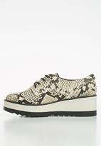 Call It Spring - Stipa flatform sneaker - black & beige