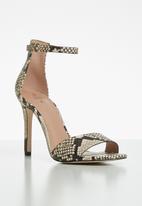 Call It Spring - Dellmar stiletto heel - black & beige