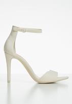 Call It Spring - Dellmar stiletto heel - white