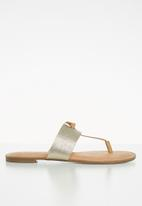 Call It Spring - Packardii sandal - champagne
