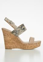 Call It Spring - Yerinna wedge heel - multi