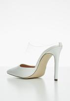 Call It Spring - Trenant stiletto mule - white