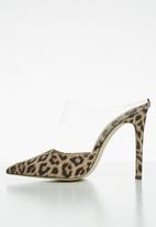 Call It Spring - Trenant stiletto mule - brown & beige