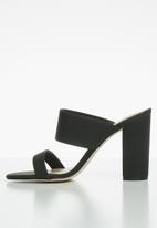 Call It Spring - Falelia block heel mule - black