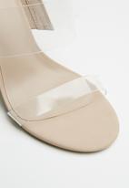 Call It Spring - Falelia heel - beige