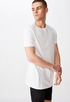 Factorie - Longline T-shirt - white