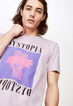 Factorie - Slim graphic T-shirt - purple