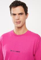 New Balance  - Optiks top - pink