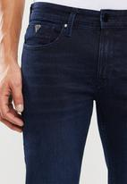 GUESS - Moonlight slim fit straight leg jeans - blue