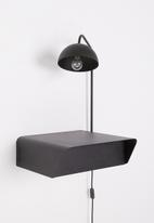 Emerging Creatives - Stockholm chapman table & light - black