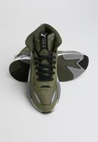 PUMA - RS-X midtop utility - burnt olive-forest night