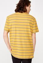 Factorie - Embroidered stripe T-shirt - multi