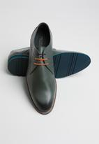 Pringle of Scotland - Tony lace-up derby - grey/green